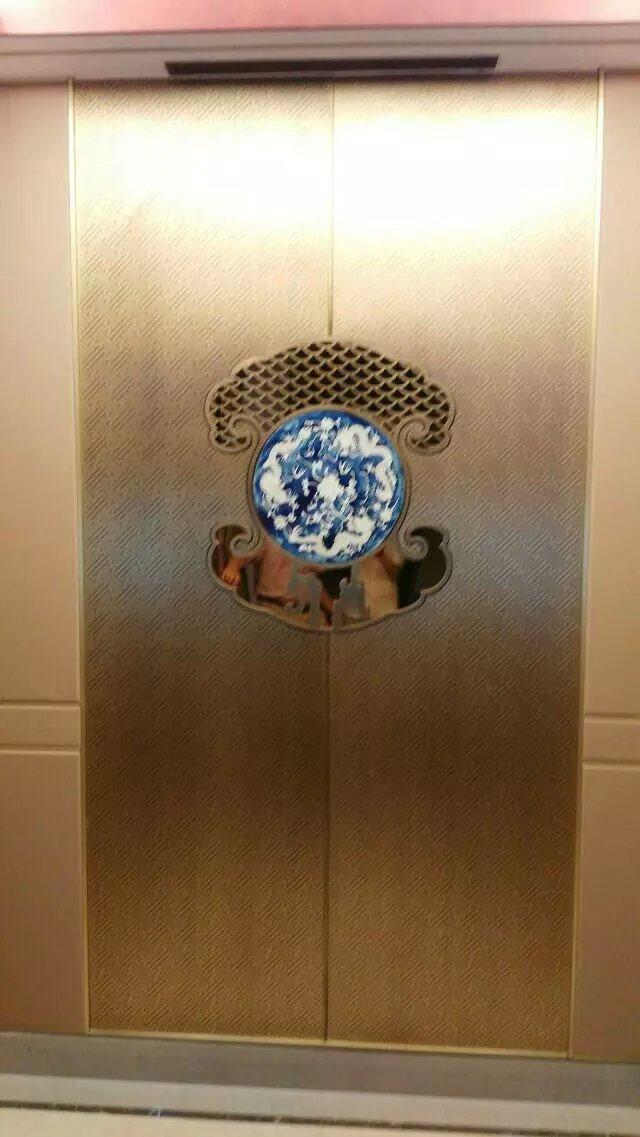 远洋辉铜电梯门案例系列